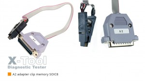 X-Tool - A2 SOIC8 Clip for EEPROM Programmer