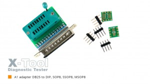 X-Tool A1 DIP8,SSOP8 for EEPROM Programmer